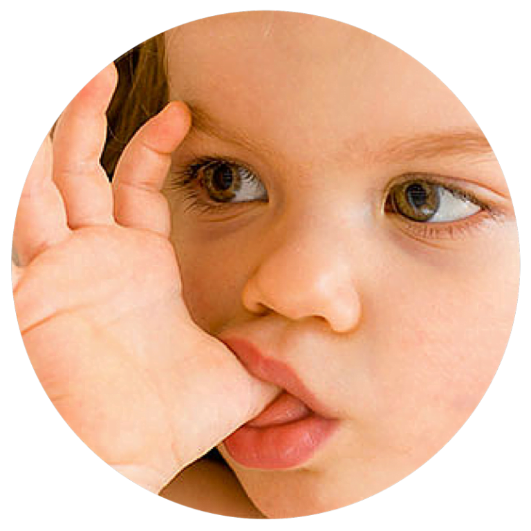 The effects of thumb sucking and pacifiers